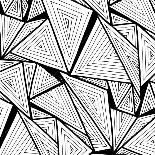 Triangular Pattern Studies